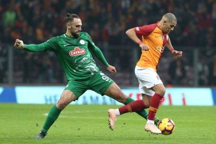 Galatasaray, Rizespor ile 2-2 berabere kaldı