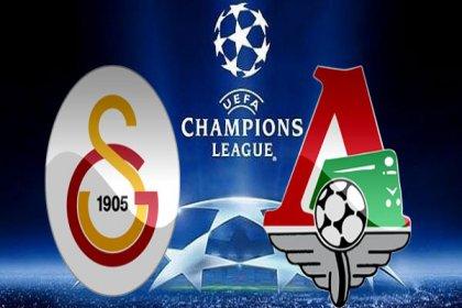 Galatasaray, Şampiyonlar Ligi'nde sahasında Lokomotiv Moskova'yı konuk ediyor