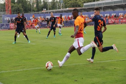Galatasaray Valencia'ya 2-1 mağlup oldu