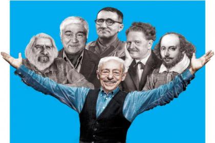 Genco Erkal'ın yeni oyunu ''Merhaba'' tiyatroseverlerle buluşuyor