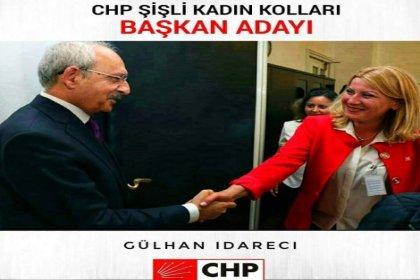 Gülhan İdareci, CHP Şişli kadın kolları başkanlığına adaylığını açıklıyor
