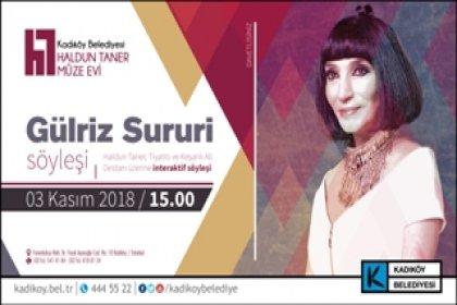 Gülriz Sururi söyleşisi Haldun Taner Müze Evi'nde