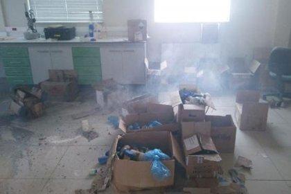 Gümüşhane'de üniversite laboratuvarında patlama: 1 öğrenci yaralı