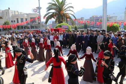 Hatay'ın anavatana katılmasının 79'uncu yıl dönümü düzenlenen törenlerle kutlandı