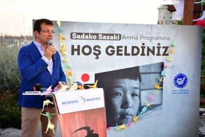 Hiroşima'da ölenler ve Sadako Sasaki Beylikdüzü'nde anıldı