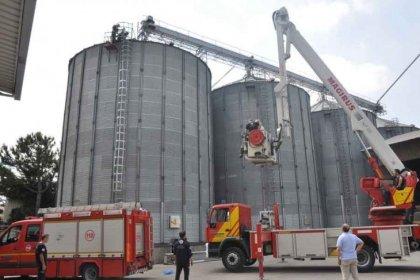 İnegöl'de buğday silosuna düşen işçi hayatını kaybetti