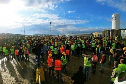 İnşaat-İş Sendikası: 3. havalimanında 400 arkadaşımız ayaklandı, 4 işçi gözaltında