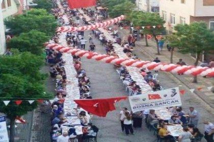 İstanbul Anadolu Yakası Bosna Sancak Derneği'nden '3. Geleneksel İftar Şöleni'