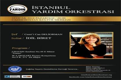 İstanbul Yardım Orkestrası'ndan ÇYDD'ye destek konseri