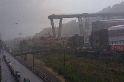 İtalya'da otoyol köprüsü çöktü: 22 ölü, çok sayıda yaralı var