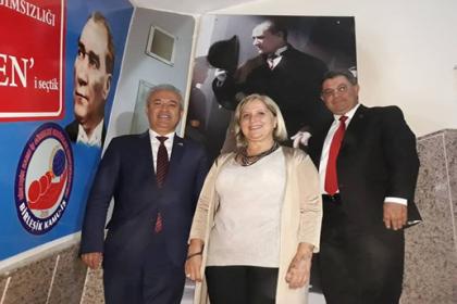 İzmir Barosu başkan adayı Çetin'den Birleşik Kamu-İş'e ziyaret