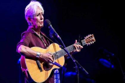 Joan Baez'den Harbiye'de veda konseri