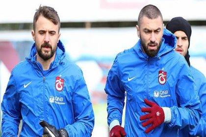 Kadro dışı kalan Burak Yılmaz ve Onur Kıvrak Trabzonspor'a ihtarname gönderdi