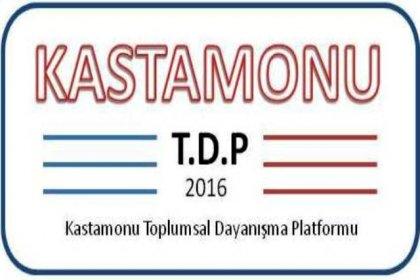Kastamonu Toplumsal Dayanışma Platformu'ndan dayanışma kahvaltısı