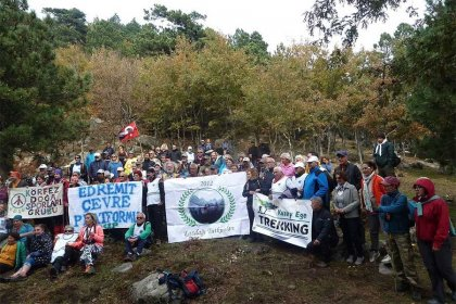 Kaz Dağı'nda RES'lere karşı direniş devam ediyor