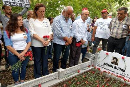 Kenan Budak, katledilişinin 37. yılında mezarı başında anıldı
