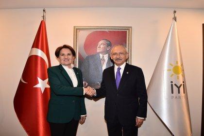 Kılıçdaroğlu, Akşener görüşmesi sona erdi
