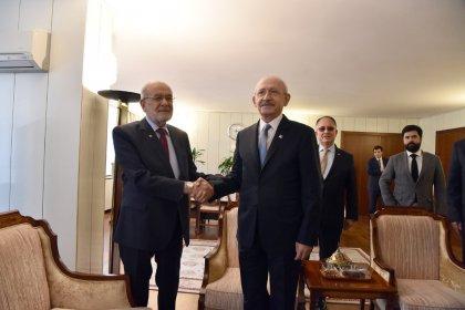 Kılıçdaroğlu ve Karamollaoğlu bir araya geldi
