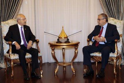 Kılıçdaroğlu, KKTC Cumhurbaşkanı Akıncı ile bir araya geldi