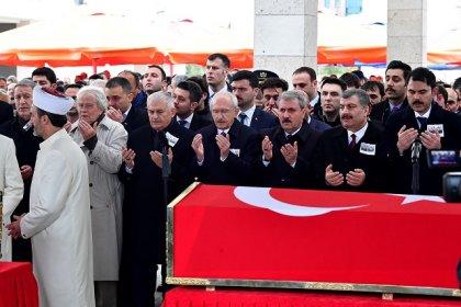 Kılıçdaroğlu, Sancaktepe'de şehit olan askerlerin cenaze törenine katıldı