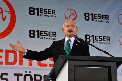 Kılıçdaroğlu: Siyasetçi halka hizmet etmek için siyaset yapar, malı götürmek için değil