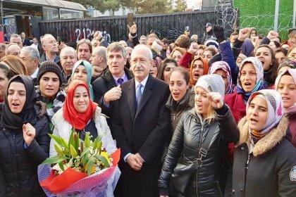Kılıçdaroğlu'ndan Flormar işçilerine destek ziyareti: Haklarınız teslim edilene kadar mücadelenizin yanında olacağız
