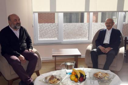 Kılıçdaroğlu, İhsan Eliaçık'ı ziyaret etti