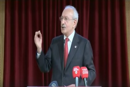 Kılıçdaroğlu:Türkiye ekonomisi tefecilere teslim edildi