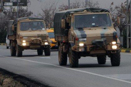 Kilis'te askeri sevkiyat hareketliliği