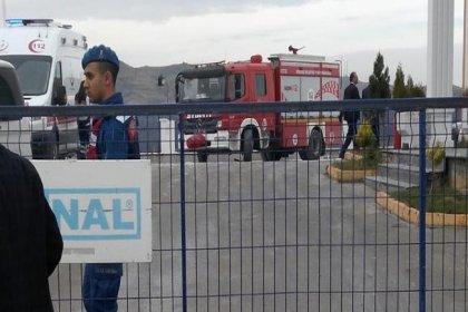 Kırıkkale'de gaz dolum tesisinde patlama: 1 kişi öldü, 2 kişi yaralandı