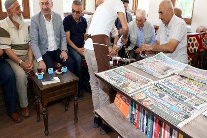 Kırıkkale'de Millet Kıraathanesi açıldı, 'cup cake' dağıtıldı