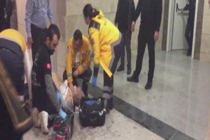 Kızı boğazı kesilerek öldürülen baba, mahkeme kararının ardından adliye koridorunda can verdi