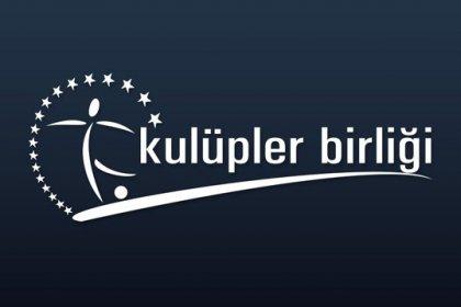 Kulüpler Birliği'nden MHK'nın Özkahya ve Göçek kararına tepki