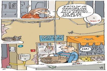 Latif Demirci Hürriyet'ten fiilen ayrıldı, veda karikatürü yayımlanmadı!