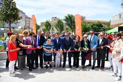 Makyol Yaşam Parkı, Barış Mahallesi'nde açıldı
