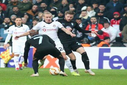 Malmö'ye 1-0 mağlup olan Beşiktaş, Avrupa'ya veda etti
