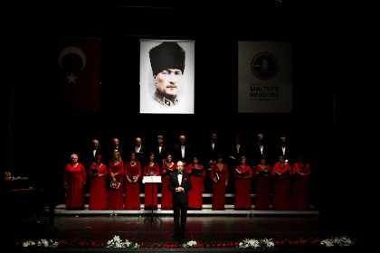 """Maltepe Belediyesi'nden """"Atatürk'e Saygı"""" konseri"""