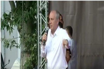 'Menderes asılırken sen neredeydin?' diyen Erdoğan'a, Muharrem İnce'den yanıt: Yahu bu kadar cahil olma konuştukça batıyorsun