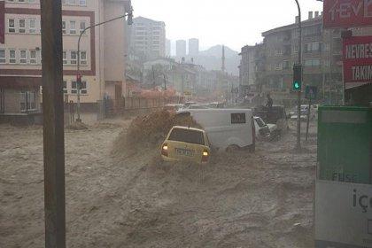 Meteoroloji'den Ankara'da 3 saatlik kuvvetli yağış uyarısı