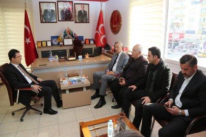 Mezitli Belediye Başkanı Tarhan'dan Mezitli'de dayanışma turu