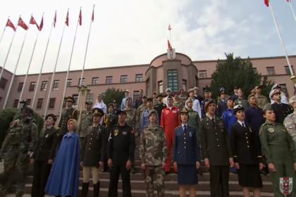 Milli Savunma Bakanlığı'ndan şehitler için özel klip