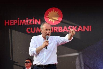 Muharrem İnce: Anadolu Ajansı, yandaş kanallar pazar günü yalan yanlış bilgi verebilirler, sakın moraliniz bozup sandıkları terk etmeyin