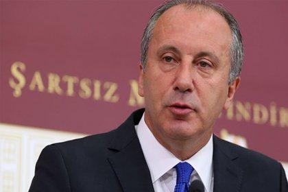 Muharrem İnce: Erdoğan ile Gül kavga etsin, biz de oy alalım diye bekliyoruz