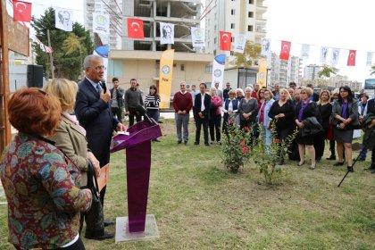 Nezihe Muhiddin - Türk Kadınlar Birliği Koruluğu açıldı