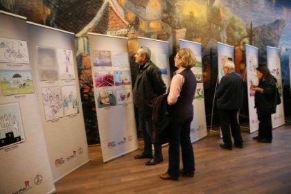Ödüllü karikatürler, Karşıyaka Evrensel Çocuk Müzesi'nde