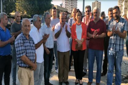 'Ölüm yolu'na dönüşen Karataş yolu protesto edildi
