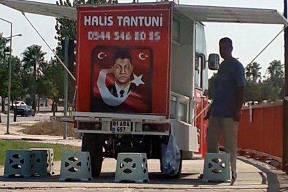 Ömer Halisdemir'in fotoğrafıyla tantuni satınca zabıta tezgahına el koydu: 'Milli duygularımla yapmıştım, ticari bir kaygım yoktu'