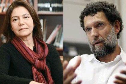 Osman Kavala'nın eşi Profesör Ayşe Buğra; 'Çok şükür Osman'ın sağlığı yerinde morali de sağlam'