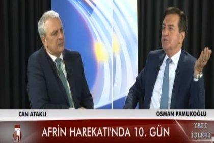 Osman Pamukoğlu: Amerika YPG'yi düzenli ordu haline getirdi