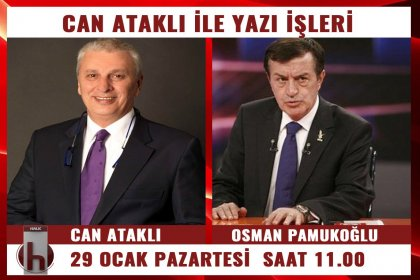 Osman Pamukoğlu, Can Ataklı'nın konuğu oluyor